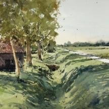 16 - Paysage de Flandre Format 38 x 24,5 cm