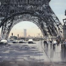 4 - Paris un matin d'automne Format 52 x 33 cm